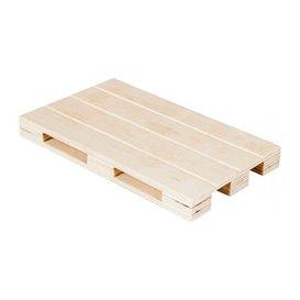 Wooden Mini Pallet Serving Platter 20x12x2cm (1 Unit)