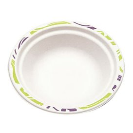 "Molded Fiber Bowl ""Chinet"" White 460ml Ø18cm (1000 Units)"