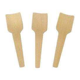 Wooden Ice Cream Spoon 7cm (100 Units)