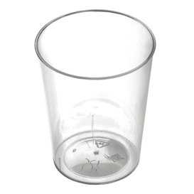 """Plastic Cup PS """"Conical"""" Clear 50 ml (25 Units)"""