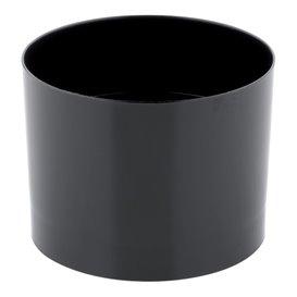 "Plastic Tasting Cup PS ""Zero"" Black 60 ml (15 Units)"