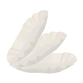 Paper Food Boat Tray Oval shape 20x12x3,5cm (1000 Units)