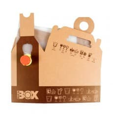 Paper Beverage Carrier 5.000 ml (25 Units)