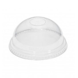 Plastic Dome Lid PET Crystal Ø8,3cm (1000 Units)