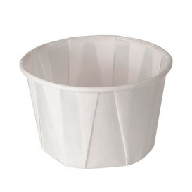 Pleated Paper Souffle Cup 37ml (5000 Units)