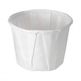Pleated Paper Souffle Cup 60ml (250 Units)