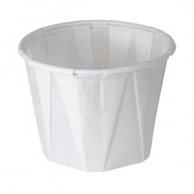 Pleated Paper Souffle Cup 165ml (250 Units)