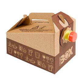 Paper Beverage Carrier 3.000 ml (25 Units)
