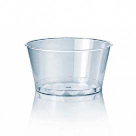 Plastic Container PS Crystal 300 ml Ø11cm (100 Units)