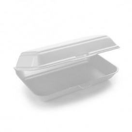 Foam Baguette Container White 2,40x1,55x0,70cm (125 Units)