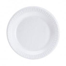 """Foam Plate """"Concorde"""" White 23 cm (500 Units)"""