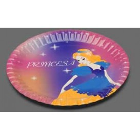 Paper Plate Princess Design 18cm (504 Units)