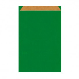 Paper Envelope Kraft Green 12+5x18cm (1500 Units)