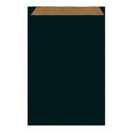 Paper Envelope Kraft Black 26+9x38cm (125 Units)