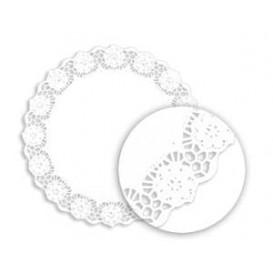 """Paper Lace Doilie White """"Litos"""" 19cm (250 Units)"""