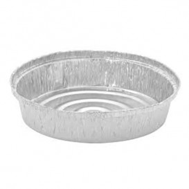 Foil Pan for Roast Chicken Round Shape 935ml (125 Units)