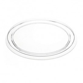 Plastic Lid PVC for Foil Flan Mold 103ml (150 Units)