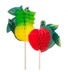 Adornos para Helados Frutas 20cm (5.000 Uds)