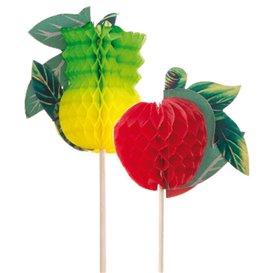Ice Cream Decorating Set Fruit Design 20cm (100 Units)