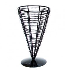 Serving Basket Containers Steel Ø12,8x18cm (1 Unit)