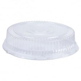 Plastic Dome Lid PS Crystal Ø11,5x4cm (125 Units)