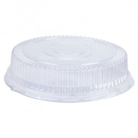 Plastic Dome Lid PS Crystal 15x4cm (1000 Units)