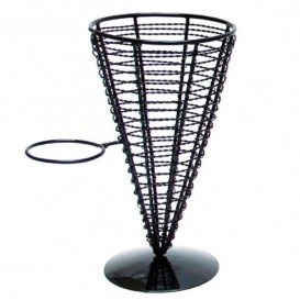 Serving Basket Containers Steel 1 Cup Ø12,8x22,5cm (1 Unit)
