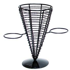 Serving Basket Containers Steel 2 Cups Ø12,8x22,5cm (1 Unit)