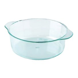 Plastic Pot PS with Handles Water Green 52ml (50 Units)