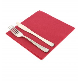 Airlaid Napkin Burgundy 40x40cm (50 Units)