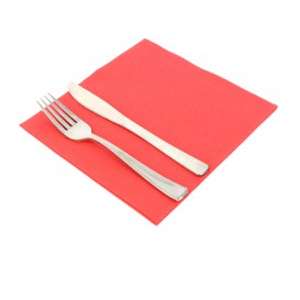 Airlaid Napkin Red 40x40cm (50 Units)
