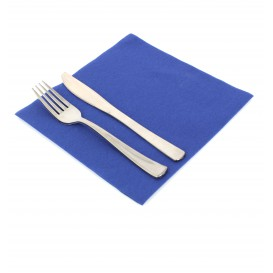 Airlaid Napkin Blue 40x40cm (50 Units)