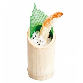 Bamboo Tasting Cup Truncated 5x9cm (200 Units)