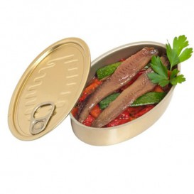 Aluminium Tasting Tin Can 120ml 11,2x7x3cm (30 Units)