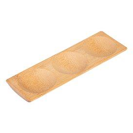 Bamboo Tray 18x5,5x1cm (12 Units)