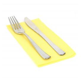 Paper Napkin Double Point Yellow 1/8 40x40cm (1.200 Units)
