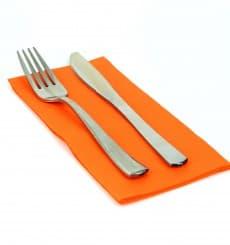 Paper Napkin Double Point Orange 1/8 40x40cm (50 Units)