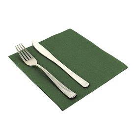 Paper Napkin Double Point Green 40x40cm (50 Units)