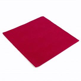 Paper Napkin Double Point Burgundy 40x40cm (1.200 Units)