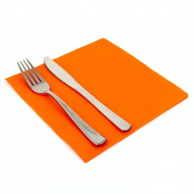 Paper Napkin Double Point Orange 40x40cm (1.200 Units)