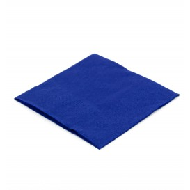 Paper Napkin Blue 20x20cm (100 Units)