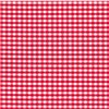 Red Vichy paper tablecloths