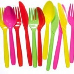 Coloured Plastic Cutlery