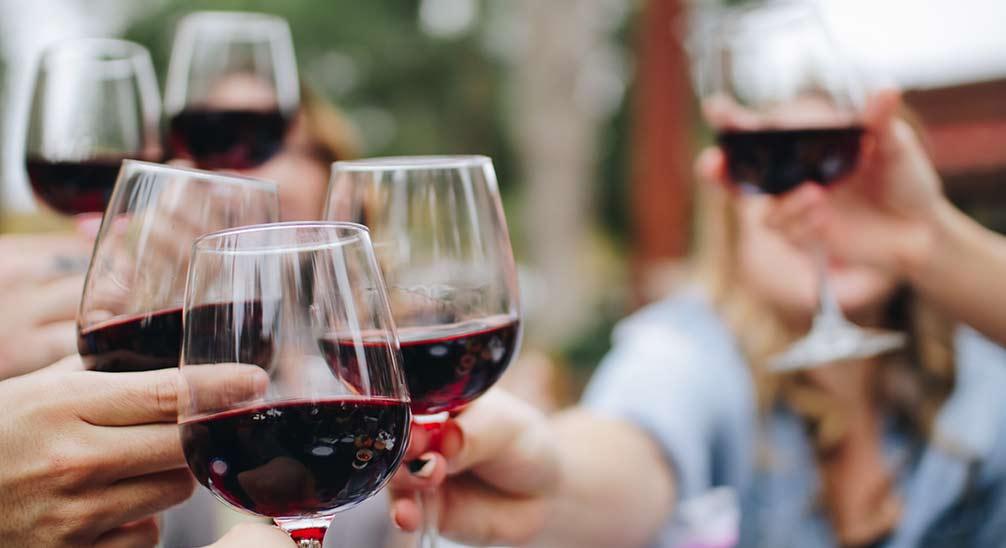 Tipos de copas desechables para vino