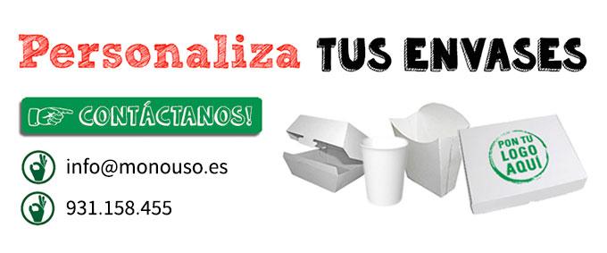 Personaliza tus envases desechables en MonoUso.es